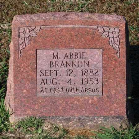 BRANNON, MARGARET ABBIE - Lawrence County, Arkansas | MARGARET ABBIE BRANNON - Arkansas Gravestone Photos