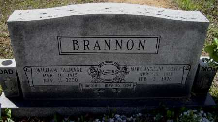 "BRANNON, MARY ANGELINE ""ANGIE"" - Lawrence County, Arkansas 