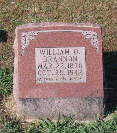 BRANNON, WILLIAM OSCAR - Lawrence County, Arkansas | WILLIAM OSCAR BRANNON - Arkansas Gravestone Photos