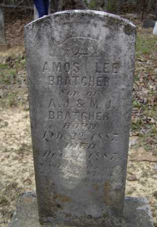 BRATCHER, AMOS LEE - Lawrence County, Arkansas | AMOS LEE BRATCHER - Arkansas Gravestone Photos