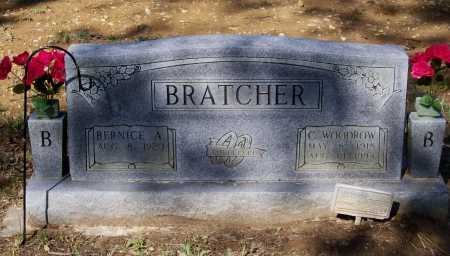 BRATCHER, SR., CHARLES WOODROW - Lawrence County, Arkansas | CHARLES WOODROW BRATCHER, SR. - Arkansas Gravestone Photos
