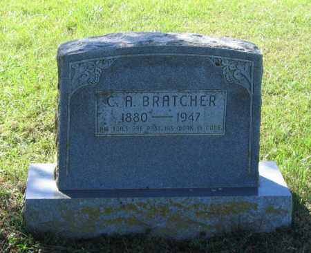 "BRATCHER, CHARLES ARTO ""C. A."" - Lawrence County, Arkansas 