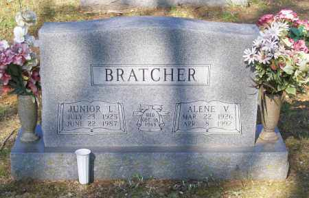 BRATCHER, ALENE VERA - Lawrence County, Arkansas | ALENE VERA BRATCHER - Arkansas Gravestone Photos