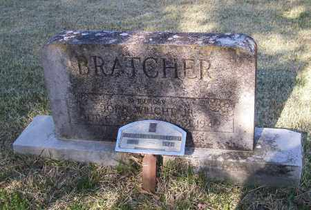BRATCHER, JR., JOHN WRIGHT - Lawrence County, Arkansas | JOHN WRIGHT BRATCHER, JR. - Arkansas Gravestone Photos