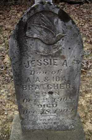 BRATCHER, JESSIE A. - Lawrence County, Arkansas | JESSIE A. BRATCHER - Arkansas Gravestone Photos