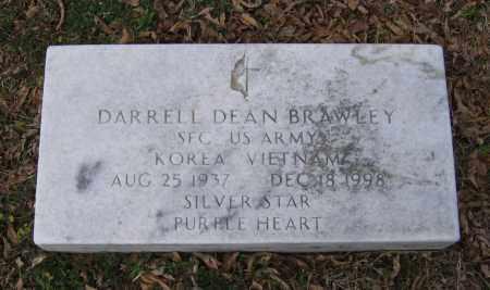 BRAWLEY (VETERAN 2 WARS), DARRELL DEAN - Lawrence County, Arkansas | DARRELL DEAN BRAWLEY (VETERAN 2 WARS) - Arkansas Gravestone Photos