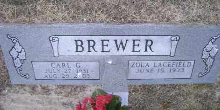 BREWER (VETERAN KOR), CARL GILBERT - Lawrence County, Arkansas | CARL GILBERT BREWER (VETERAN KOR) - Arkansas Gravestone Photos