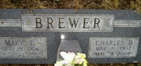 BREWER, CHARLES DAMON - Lawrence County, Arkansas | CHARLES DAMON BREWER - Arkansas Gravestone Photos