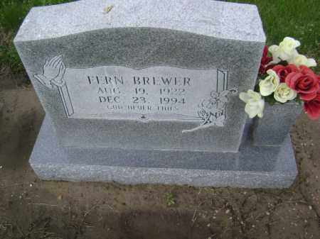 BREWER, FERN - Lawrence County, Arkansas | FERN BREWER - Arkansas Gravestone Photos