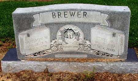 BREWER, WOODROW W. - Lawrence County, Arkansas | WOODROW W. BREWER - Arkansas Gravestone Photos