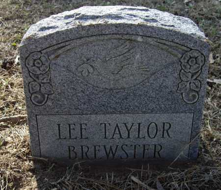 BREWSTER, LEE TAYLOR - Lawrence County, Arkansas | LEE TAYLOR BREWSTER - Arkansas Gravestone Photos