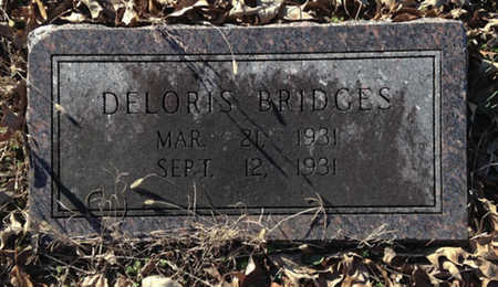BRIDGES, DELORIS - Lawrence County, Arkansas | DELORIS BRIDGES - Arkansas Gravestone Photos