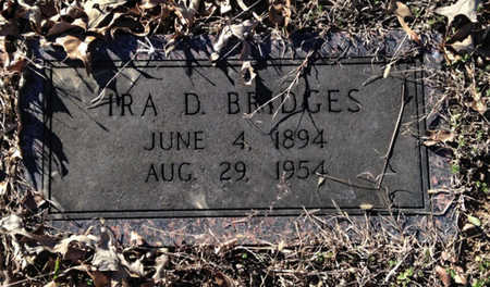 BRIDGES, IRA DATUS - Lawrence County, Arkansas | IRA DATUS BRIDGES - Arkansas Gravestone Photos