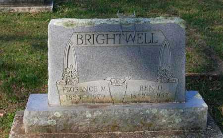 "BRIGHTWELL, BENJAMIN ORVIL ""BEN O."" - Lawrence County, Arkansas | BENJAMIN ORVIL ""BEN O."" BRIGHTWELL - Arkansas Gravestone Photos"