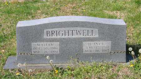 BILBREY BRIGHTWELL, MARY ELLEN - Lawrence County, Arkansas | MARY ELLEN BILBREY BRIGHTWELL - Arkansas Gravestone Photos