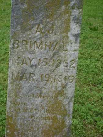 BRIMHALL (VETERAN CSA), ANDREW J. - Lawrence County, Arkansas | ANDREW J. BRIMHALL (VETERAN CSA) - Arkansas Gravestone Photos