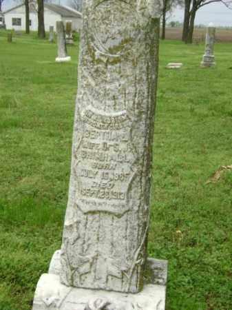 BRIMHALL, BERTHA E. - Lawrence County, Arkansas | BERTHA E. BRIMHALL - Arkansas Gravestone Photos