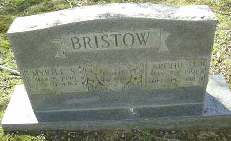 ORRICK BRISTOW, MYRTLE SUSAN - Lawrence County, Arkansas | MYRTLE SUSAN ORRICK BRISTOW - Arkansas Gravestone Photos