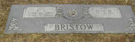 BRISTOW, ARCHIE JEFFERSON 'A J' - Lawrence County, Arkansas | ARCHIE JEFFERSON 'A J' BRISTOW - Arkansas Gravestone Photos