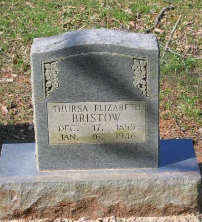 BRISTOW, THURSA ELIZABETH - Lawrence County, Arkansas | THURSA ELIZABETH BRISTOW - Arkansas Gravestone Photos