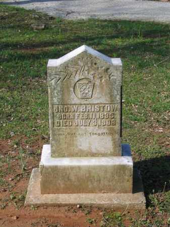 BRISTOW (VETERAN CSA), JOHN WESLEY - Lawrence County, Arkansas | JOHN WESLEY BRISTOW (VETERAN CSA) - Arkansas Gravestone Photos