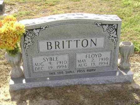 BRITTON, SYBLE - Lawrence County, Arkansas | SYBLE BRITTON - Arkansas Gravestone Photos