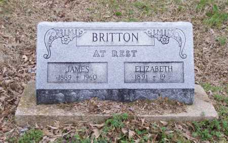 BRITTON, EXIE ELIZABETH - Lawrence County, Arkansas | EXIE ELIZABETH BRITTON - Arkansas Gravestone Photos