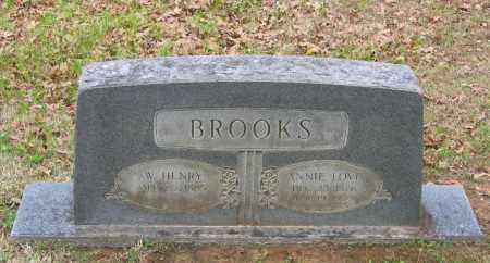 BROOKS, WILLIAM HENRY - Lawrence County, Arkansas | WILLIAM HENRY BROOKS - Arkansas Gravestone Photos