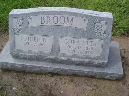 BROOM, LUTHER B. - Lawrence County, Arkansas | LUTHER B. BROOM - Arkansas Gravestone Photos