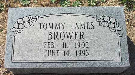 "BROWER, THOMAS JAMES ""TOMMY"" - Lawrence County, Arkansas 