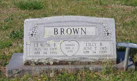 BROWN, CLAUDE E. - Lawrence County, Arkansas | CLAUDE E. BROWN - Arkansas Gravestone Photos