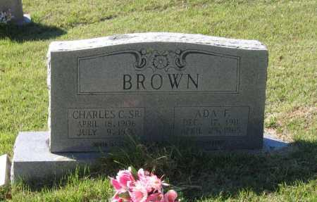 BROWN, SR., CHARLES C. - Lawrence County, Arkansas | CHARLES C. BROWN, SR. - Arkansas Gravestone Photos