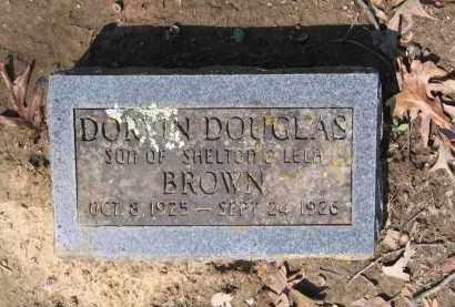 BROWN, DORVIN DOUGLAS - Lawrence County, Arkansas | DORVIN DOUGLAS BROWN - Arkansas Gravestone Photos