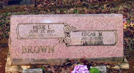 BROWN, EDGAR EMANUEL - Lawrence County, Arkansas | EDGAR EMANUEL BROWN - Arkansas Gravestone Photos