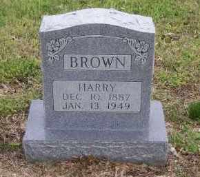 BROWN, HARRY - Lawrence County, Arkansas | HARRY BROWN - Arkansas Gravestone Photos