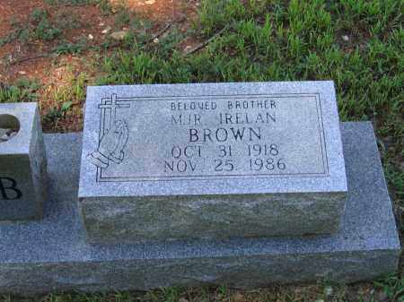 BROWN, IRELAN - Lawrence County, Arkansas | IRELAN BROWN - Arkansas Gravestone Photos