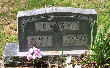 "LONG BROWN, LUCETTA ""LOU SETTIE"" - Lawrence County, Arkansas 