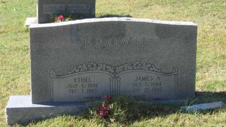 BROWN, JAMES ALEXANDER - Lawrence County, Arkansas | JAMES ALEXANDER BROWN - Arkansas Gravestone Photos