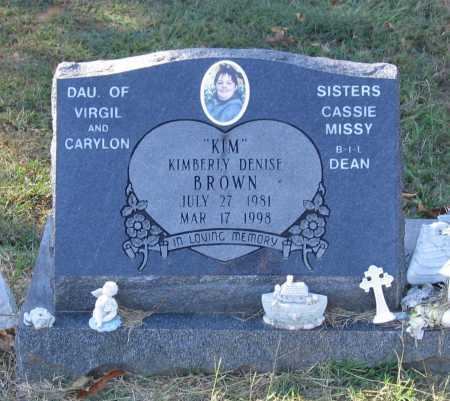 "BROWN, KIMBERLY DENISE ""KIM"" - Lawrence County, Arkansas 
