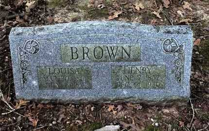 BROWN, HARRIETT LOUISA - Lawrence County, Arkansas | HARRIETT LOUISA BROWN - Arkansas Gravestone Photos
