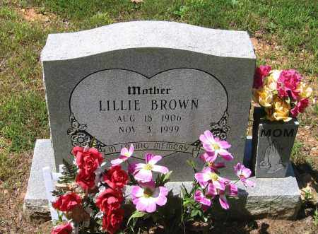 COSSEY BROWN, LILLIE - Lawrence County, Arkansas | LILLIE COSSEY BROWN - Arkansas Gravestone Photos