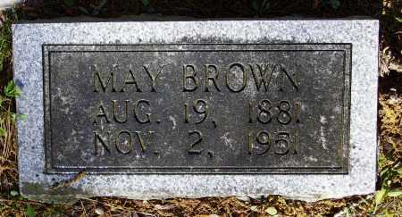 WOODS BROWN, MAY - Lawrence County, Arkansas | MAY WOODS BROWN - Arkansas Gravestone Photos