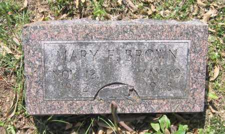 BROWN, MARY E. - Lawrence County, Arkansas | MARY E. BROWN - Arkansas Gravestone Photos