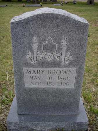 BROWN, MARY F. - Lawrence County, Arkansas | MARY F. BROWN - Arkansas Gravestone Photos