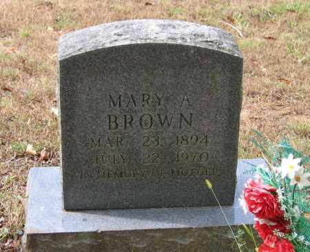 BROWN, MARY A. - Lawrence County, Arkansas | MARY A. BROWN - Arkansas Gravestone Photos