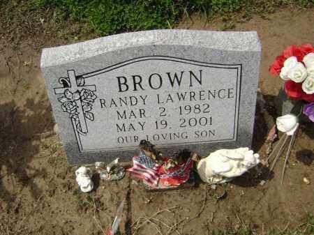 BROWN, RANDY LAWRENCE - Lawrence County, Arkansas | RANDY LAWRENCE BROWN - Arkansas Gravestone Photos