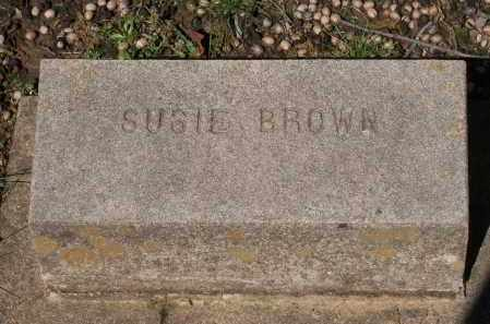 BROWN, SUSIE - Lawrence County, Arkansas | SUSIE BROWN - Arkansas Gravestone Photos