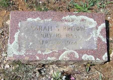 BROWN, SARAH S. STUART - Lawrence County, Arkansas | SARAH S. STUART BROWN - Arkansas Gravestone Photos