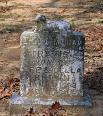 BROWN, TRAVIS - Lawrence County, Arkansas | TRAVIS BROWN - Arkansas Gravestone Photos
