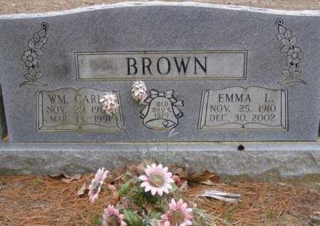 BROWN, WILLIAM CARL - Lawrence County, Arkansas | WILLIAM CARL BROWN - Arkansas Gravestone Photos